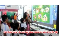 Cung cấp các loại bảng tương tác thông minh giá rẻ tại Hà Nội