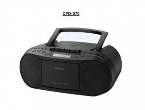 CASSETTE SONY CFD-S70