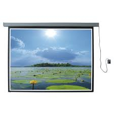 Màn chiếu điện điều khiển từ xa Burio 120 inch