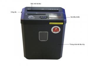 Máy huỷ tài liệu Silicon PS-800C